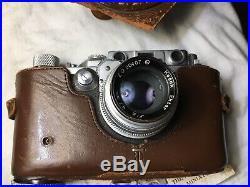 Kardon Rangefinder 35mm Film Camera with Kodak Ektar 47mm f/2 Lens