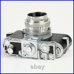 Kodak EKTRA Film Rangefinder Camera Ektar 50mm f1.9 Lens #4995 Works! RARE