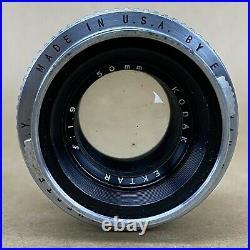 Kodak Ektra Rangefinder Camera With 50mm 1.9 Lens 1941 #2806