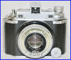 Kodak Medalist I Black Focus Tube + Viewing Back & Factory Repair Manual 1945
