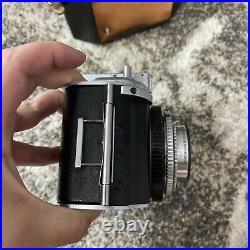 Kodak Medalist I Camera with Ektar 100mm F/3.5 Lens With Case