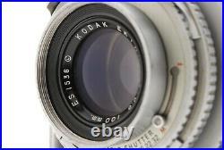 Kodak Medalist II 6x9 Format Rangefinder Camera Ektar 100mm F3.5 #498