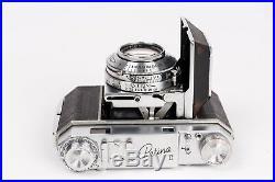 Kodak Retina II(Type 014)+ Rodenstock -Retina Heligon f= 2/50 +Compur R. READ DE