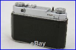 Kodak Retina II, vintage 35mm rangefinder camera, lens Rodenstock Heligon 2/5cm