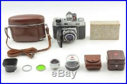 Kodak Retina IIIC 35mm Film Camera Xenon C 50mm f/2 with35mm f/5.6 and more #9213