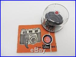 Kodak Retina IIIC Schneider Longar Xenon C 80mm f4 Retina Xenon C 50mm f2 jf084