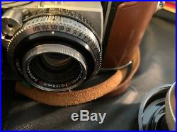 Kodak Retina IIIc 35mm Camera with Original Leather Case