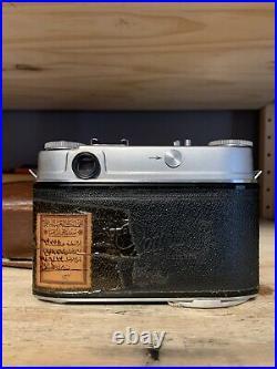 Kodak Retina IIIc 35mm Rangefinder Camera Rodenstock Heligon 50mm F2 Lens