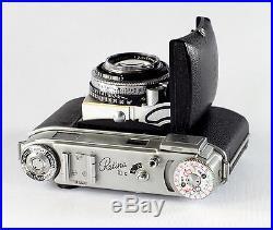Kodak Retina IIIc (small c), #EK705212, Xenar 2/50mm, Synchro Compur