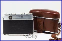 Kodak Retina IIIc withRetina-Heligon C 12 50mm Case Fine vintage condition