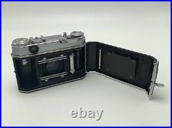 Kodak Retina IIa 35mm Rangefinder Film Camera with Hood Filters Bilora Tripod