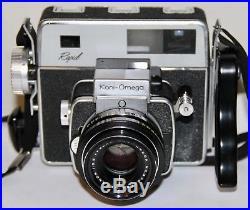 Koni-Omega Rapid With 90mm f/3.5 Hexanon In Original Box 6x7cm Film Camera