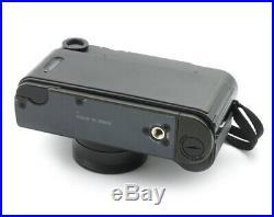 Konica Hexar Black Rangefinder Film Camera 35mm with Hexar 2/35 mm