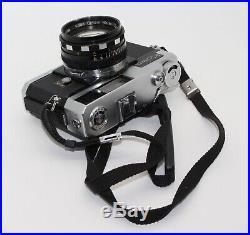 Kowa Kallo 140 35mm Rangefinder Film Camera with fast f/1.4 Prominar lens + case