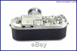 Kristal 3S Silver w. 50mm Kirnar Anastigmat Kristal lens & Kristall case Ex++