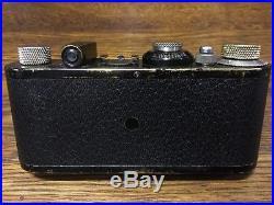 LEICA 1a 1928 Rare Four Digit Serial No. 7933 Elmar in FEET Rare Lens