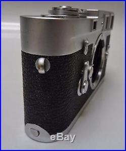 LEICA 35mm M3 Single Stroke RANGEFINDER CAMERA MANUAL/Accessory/1MILLION SERIAL