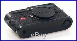 LEICA BLACK M4-P RANGEFINDER 35mm FILM CAMERA BOX LEITZ