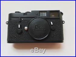LEICA BLACK M4 RANGEFINDER 35mm FILM CAMERA BOX