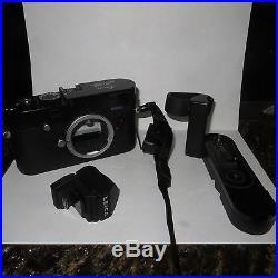 Leica Camera M-p And Evf 2 Rangfinder Camera