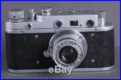 LEICA D. R. P. Ernst Leitz Wetzlar Exclusive 35mm Art Camera /FED copy