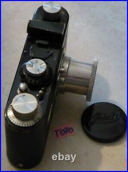 LEICA I Bj. 1930 alte Kamera Leitz Elmar 13.5 50mm LEITZ WETZLAR (T070)