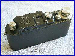 LEICA I / III BLACK BODY 1931 & 5cm NICKEL ELMAR NICE ORIGINAL VINTAGE SHOOTER
