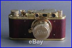 LEICA II D Ernst Leitz Wetzlar WWII Vintage 35mm Art Camera /FED Zorky copy