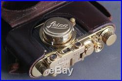 LEICA II(D) Ernst Leitz Wetzlar WWII Vintage RF 35mm Art Camera /FED Zorky copy