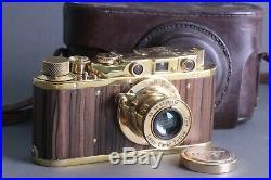 LEICA II D Ernst Leitz Wetzlar WWII Vintage VTG 35mm Art Camera /Zorky FED copy