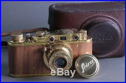 LEICA II(D) K. M. Kriegsmarine WWII Ernst Leitz Wetzlar 35mm Camera /FED copy