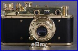 LEICA II D Leitz Elmar Olympic XI Games 1936 Vintage 35mm Art Camera /Zorky copy