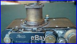 LEICA II + HECTOR 5cm 1/2.5 1932 Rare