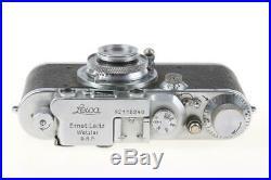LEICA III mit Elmar 50mm f/3,5 SNr 112240