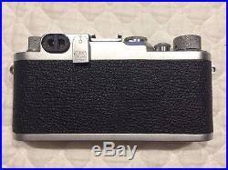 LEICA IIIF RD + MINT RARE RADIOACTIVE SM Summicron 50mm F2 + CASES -CLA YYE 7/16