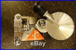 LEICA IIIF Summaron f3.5 35mm 3.5cm & 13.5cm NO RESERVE AUCTION NR
