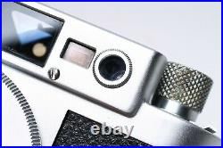 LEICA IIIG 35MM FILM RANGEFINDER FILM LTM BODY No. 868669 +case