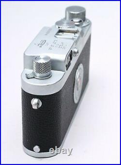 LEICA IIIG 35MM FILM RANGEFINDER LTM CAMERA BODY No. 826500 YYe SERVICED 7/19