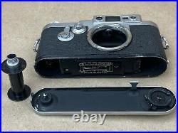 LEICA IIIG Vintage 1956 Camera Body #846878 WORKS GREAT