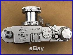 LEICA IIIG Vintage 1957 Camera #867467 with 5cm f/2.8 Elmar GORGEOUS