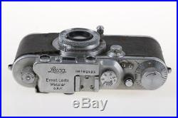 LEICA IIIa mit Elmar 5cm f/3,5 / BJ 35 SNr 162483