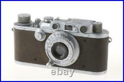 LEICA IIIa mit Elmar 5cm f/3,5 SNr 206617