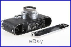 LEICA IIIc mit Summar 5cm f/2,0 SNr 509970