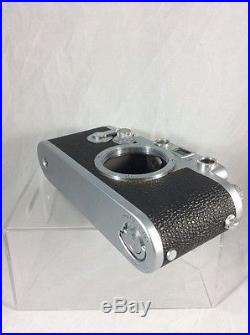 LEICA IIIf RED DIAL With Self-Timer (body) Serial 698650 With Case
