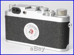 LEICA LEITZ IIIG 35mm FILM CAMERA RANGEFINDER BODY No. 858073 EX++ COSMETIC