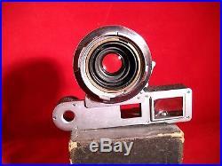 LEICA LEITZ WETZLAR SUMMARON M 35mm f2.8 RANGE FINDER LENS 1922283 WITH EYES