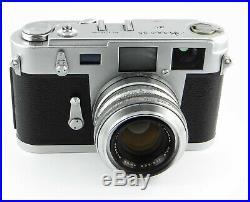 LEICA M 3 Kopie AIRES 35 III C mit H CORAL 11.9 f=4.5cm Messsucher-Kamera
