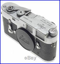 LEICA M2 RANGEFINDER FILM CAMERA LEITZ 35mm VINTAGE CLASSIC WORK HOARSE WORKING