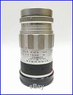 Leica M3 Single Stroke 35mm Rangefinder Camera With 3 Lenses