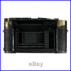 LEICA M3 SS RF FILM CAMERA REPAINTED REPAINTING VINTAGE BRASS BLACK / CLA'd EX++